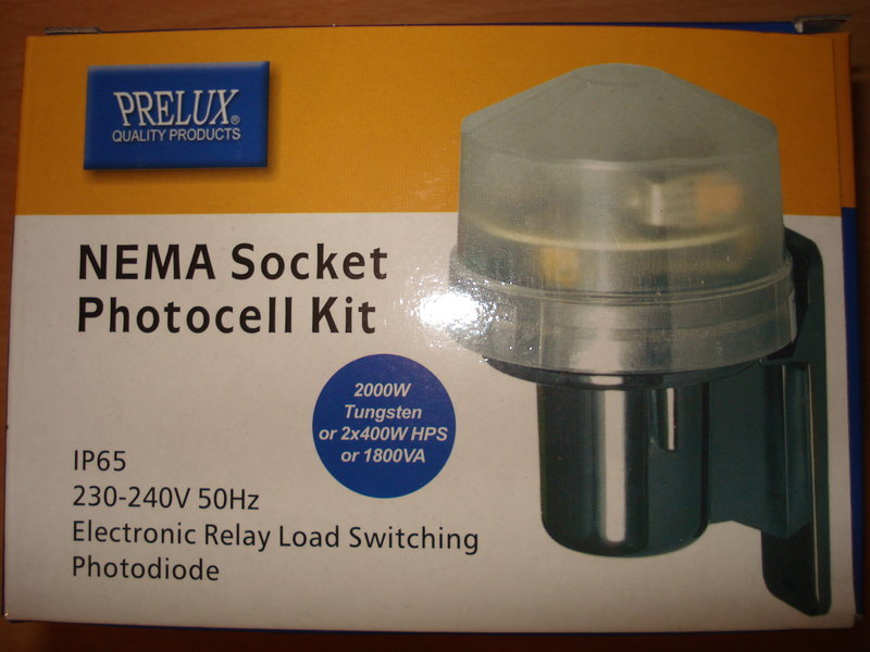 photocell kit sensor dusk till dawn light switch prelux foglish